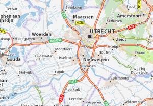 Utrecht kaart